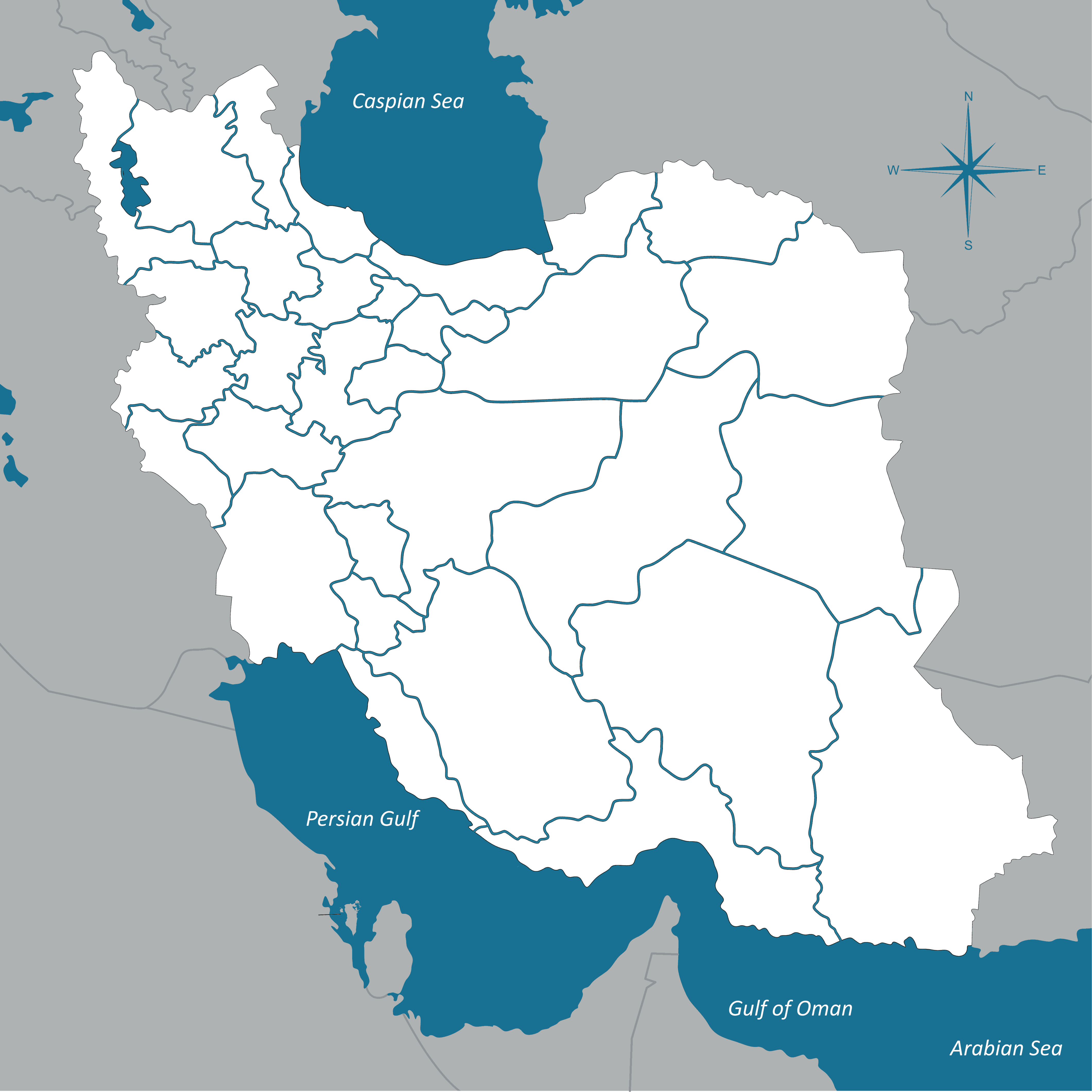 Mapping Irans Human Rights Interactive Center For Human - Map of iran
