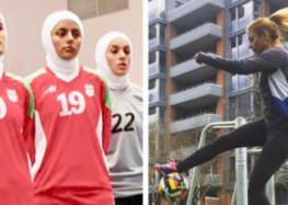 Iranian Female Soccer Player Publicly Decries Ban For Playing Without Hijab