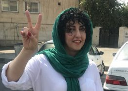For the First Time in Three Years, Political Prisoner Narges Mohammadi Has Gone On Furlough