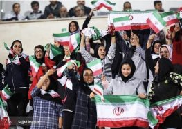 Iranian Women Attend Men's Soccer Game, Standing Firm Against State Ban and Hardline Threats